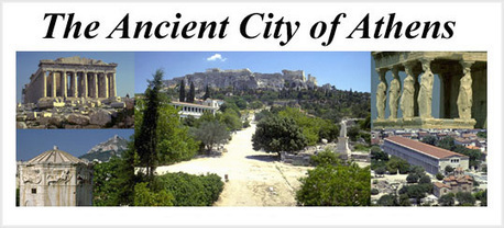 The Ancient City of Athens | EURICLEA | Scoop.it