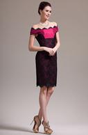 [EUR 99,99] eDressit 2013 Nouveautés Charmante Off Epaule Dentelle Noire Robe de Cocktail (04136402) | Fashion Show | Scoop.it