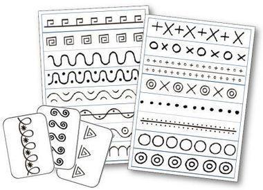 Le graphisme en maternelle : activités répertoires graphiques... | E-maternelle | Scoop.it