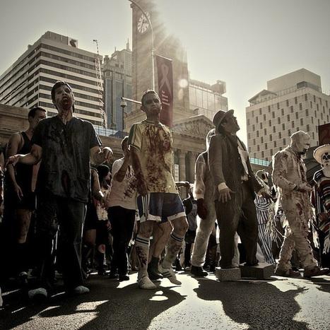 Le phénomène Zombie Walk en 2013, un flash mob pas comme les autres | NUMERIQUE I GEEK | Scoop.it