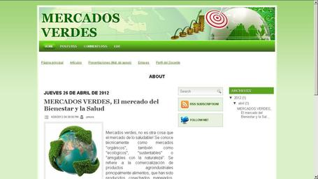 "GERENCIA DE MERCADEO AL TANTO DE... ""MERCADOS VERDES""(blog) - UDES POSTGRADO 