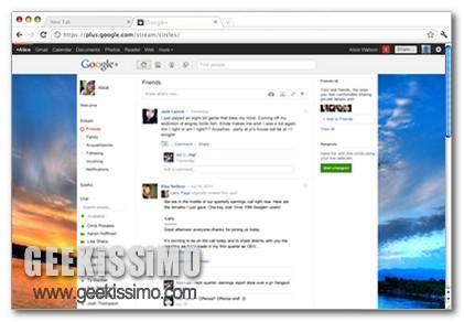 Themes for Google Plus, personalizzare Google+ impostando un ... | About Google+ | Scoop.it