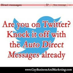 Are you on Twitter? Knock it off with the Auto Direct Messages already | Jenn T. Grace | 925HIRE, LLC | Scoop.it