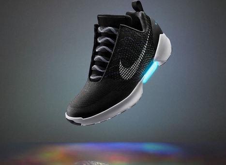 Nike HyperAdapt 1.0, la première chaussure autolaçante !   L'innovation dans la filière cuir   Scoop.it