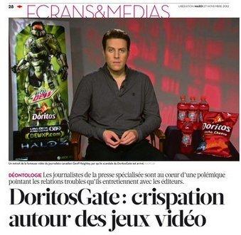 DoritosGate: crispation autour des jeux vidéo | DocPresseESJ | Scoop.it