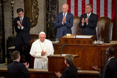 Pope Francis Challenges Congress to Heal World's 'Open Wounds' | AP Government & Politics | Scoop.it