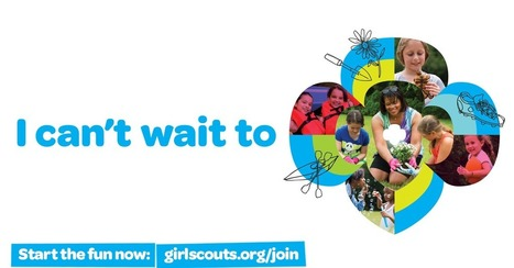 I can't wait to be a Girl Scout. | Girl Scouts of America | Scoop.it
