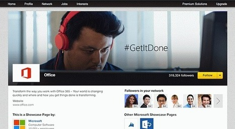 LinkedIn Introduces Showcase Pages for Business | Technology in Business Today | Scoop.it