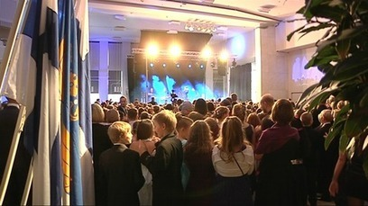 4th graders have a ball at Independence Day bash - YLE News | Finland | Scoop.it