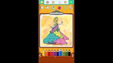 Princess Coloring Pages – Windows Apps on Microsoft Store | Windows Phone Apps and Games | Scoop.it