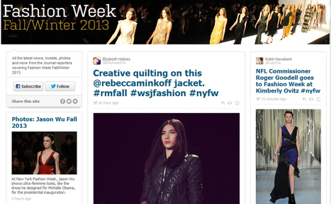 How news orgs are using RebelMouse for blizzard, Fashion Week | Social Media and Journalists | Scoop.it