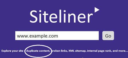 SiteLiner. Detecter le contenu en double sur votre site - Les outils de la veille | Actualités sur les nouvelles technologies et les innovations web, réseaux sociaux , smartphones et tablettes | Scoop.it