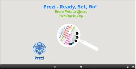Climbing the Ladder of Educational Technology: Prezi - Ready, Set, Go! How to Make an Effective Prezi Step by Step. | Technology Web 2.0 | Scoop.it