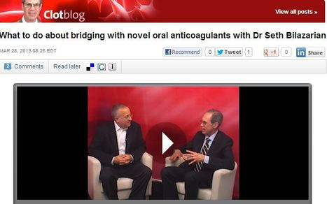 What to do about bridging with novel oral anticoagulants | Heart and Vascular Health | Scoop.it