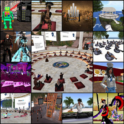 6th SLanguages 2012 - AVALON | Second Life y Mundos Virtuales | Scoop.it