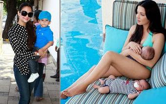 Celena Jaitley and Amrita Arora Get Kids   Justhottest   Scoop.it
