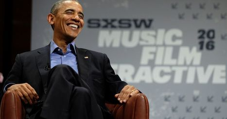 Obama calls on tech industry at SXSW to help solve nation's problems | Internet of Things - Company and Research Focus | Scoop.it