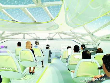 Take A Virtual Tour Of Airbus' Crazily Futuristic Concept Plane | Everything from Social Media to F1 to Photography to Anything Interesting. | Scoop.it