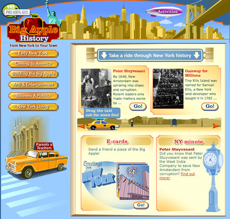 Big Apple History | PBS KIDS GO! | Education for Sustainable Development | Scoop.it