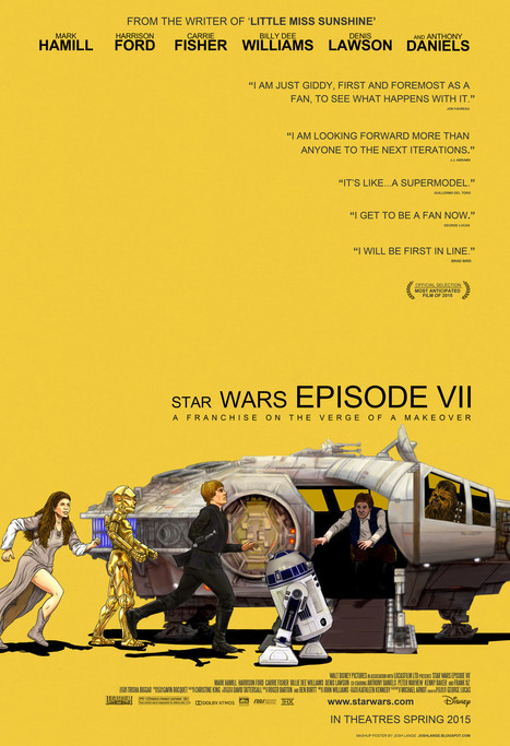 Awesome STAR WARS / LITTLE MISS SUNSHINE MashupPoster | Geek On | Scoop.it