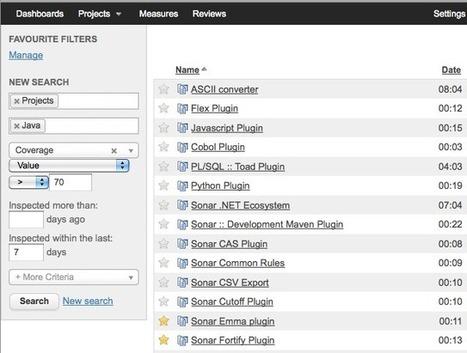 Sonar » Sonar 3.4 in Screenshots   Software Quality - SonarQube by SonarSource   Scoop.it
