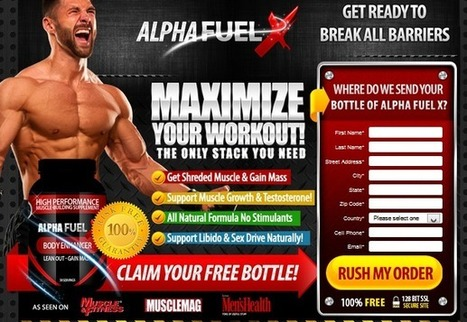 Alpha Fuel X Review - What Makes This Supplement Effective? | | son sheilds | Scoop.it