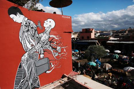 MB6 Street Art Update I – Marrakech Biennale... | The Brooklyn Street Art Tumblr | World of Street & Outdoor Arts | Scoop.it