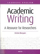 Academic writing : a resource for researchers | Language and Literature | Scoop.it