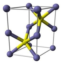 A model of the iron sulphide crystal | Gebruik van Google forms om data in te samel. | Scoop.it