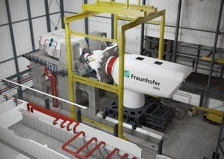 Fraunhofer IWES builds 10-MW nacelle test | Wind turbine testing | Scoop.it