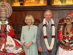 Prince Charles and Duchess of Cornwall get a colourful welcome to Southern India - Express.co.uk | Breaking news on today newspaper - Indian Economy Report | Scoop.it