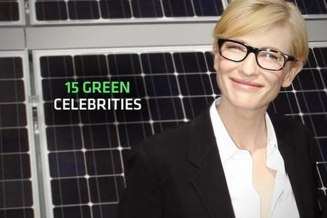 15 Green Celebrities | Sustainability and responsibility | Scoop.it