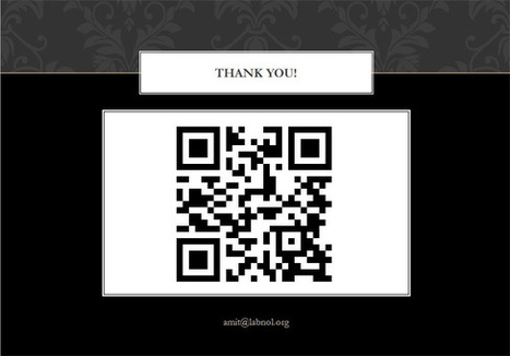 Share your Presentation Slides with a QR Code | Technology and Education Resources | Scoop.it