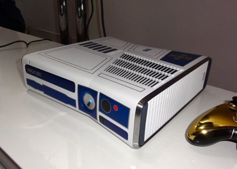 R2-D2-themed Xbox 360 is the droid—er, console—you're looking for (eyes-on) : here's the thing | Technology and Gadgets | Scoop.it