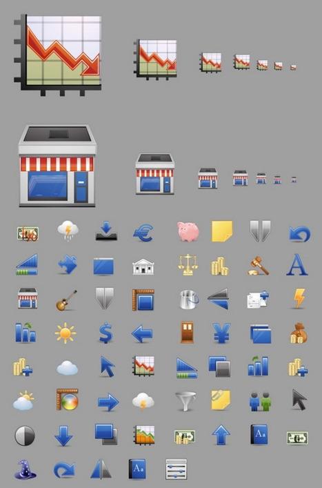 38 Collections d'Icônes Gratuites pour Votre E-Commerce | WebZine E-Commerce &  E-Marketing - Alexandre Kuhn | Scoop.it