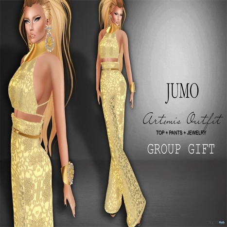 Artemis Outfit Buttercup Group Gift by JUMO | Teleport Hub - Second Life Freebies | Second Life Freebies | Scoop.it