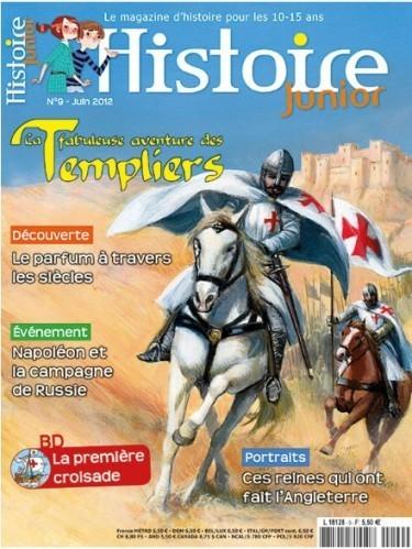 Histoire Junior - Revue histoire - Abonnement junior   La presse en ligne   Scoop.it