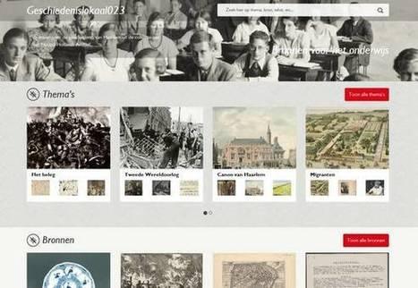 Digitaal geschiedenislokaal in Haarlem - Haarlems Dagblad | OnderwijsRSS | Scoop.it