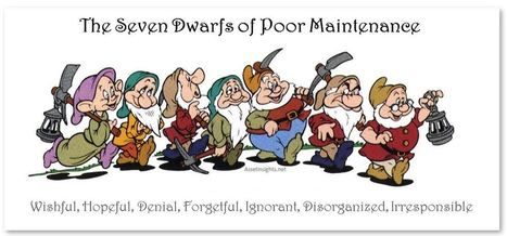7 Reasons why Maintenance Doesn't Get Done Properly | Maintenance Optimization & Capital Planning Strategies | Scoop.it