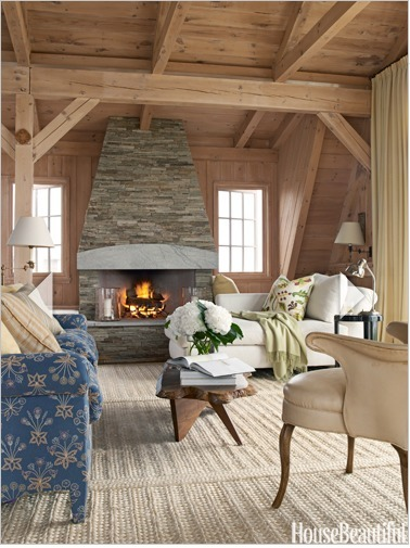 """Textured Carpet in Rustic Room   Alexanian Carpet & Flooring - """"The World at Your Feet"""" www.alexanian.com   Scoop.it"""