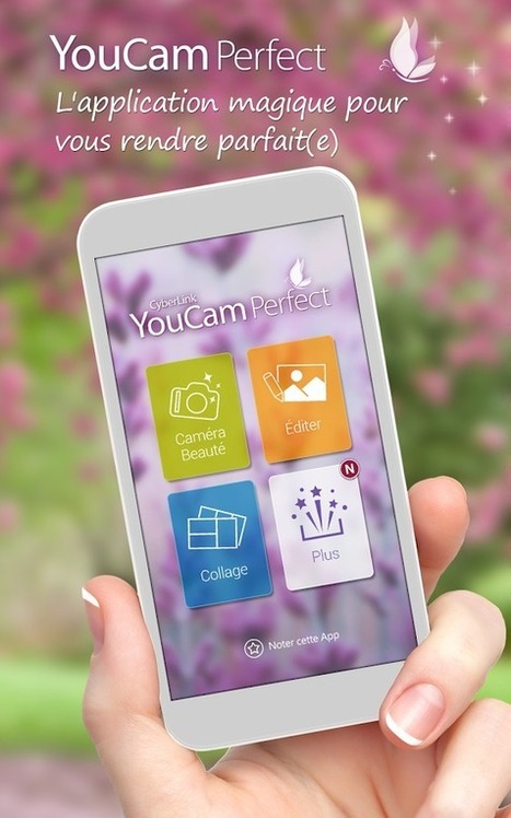 "YouCam Perfect : Des selfies parfaits | Veille Techno et Informatique ""AutreMent"" 