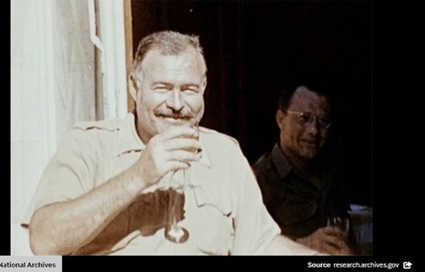 Einstein, Hemingway et croix gammée qui explose…Les archives américaines se transforment en gifs | Culture numérique | Scoop.it