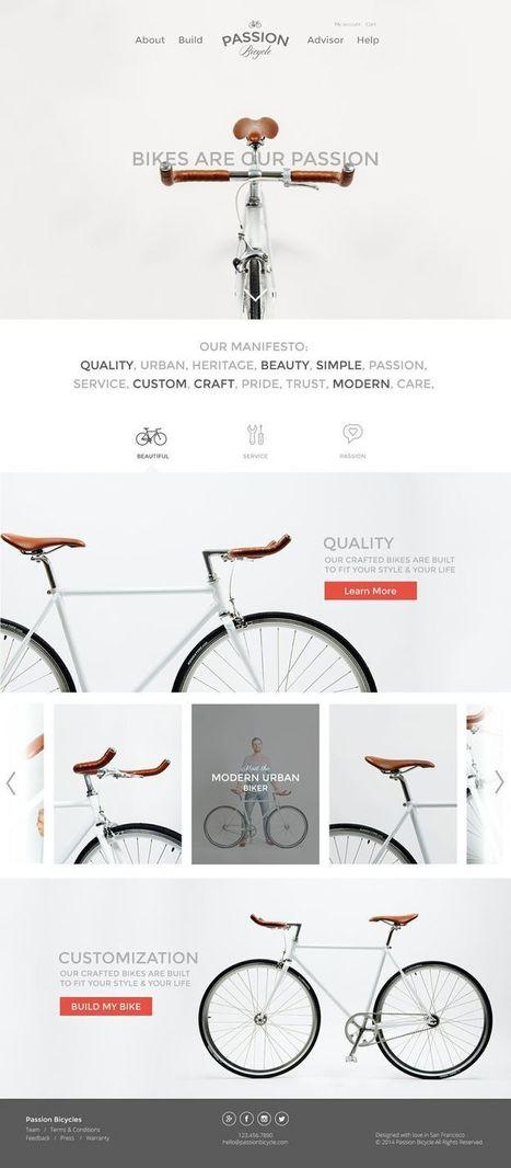 40+ Trendy Website Designs For Your Inspiration | Linguagem Virtual | Scoop.it