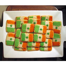 Irish Flag Cookies | Candy Buffet Weddings, Events, Food Station Buffets and Tea Parties | Scoop.it