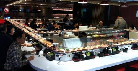 Un buffet roulant japonais aux options futuristes - meltyFood | Nourriture japonaise en France | Scoop.it