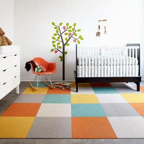Préparer la chambre de bébé #5   Dossier de l'été   Decorer le sol : tapis,...   Idées de DIY   Scoop.it