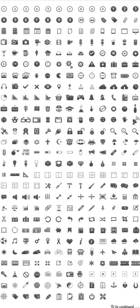 24 Clean & Free Icon Sets For Minimal Web Design | Web Design Habits | web-Icons | Scoop.it