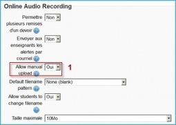 Online audio assignment in Moodle | Our Learning | teaching and learning in the 21st century | Scoop.it