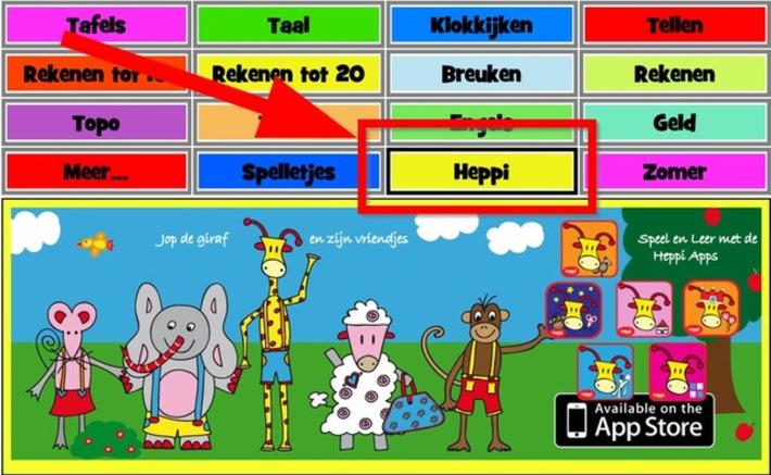 Edu-Curator: Nieuw op Digipuzzel - Leerspellen: Een serie gratis (kleuter-)spellen met Jop de Giraf | Educatief Internet - Gespot op 't Web | Scoop.it