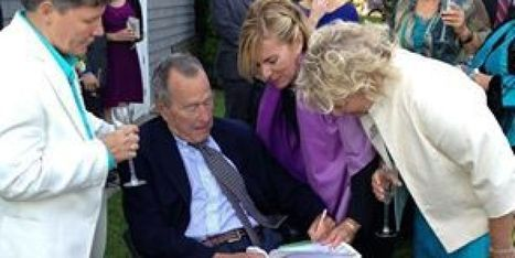 Bush Serves As Witness At Gay Wedding | GLBTAdvocacy | Scoop.it